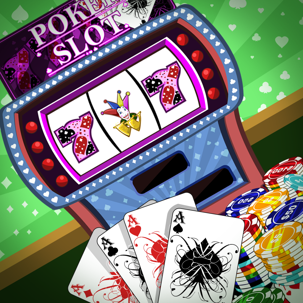 All-in Poker Slots : Classic One Armed Bandit Slots Machine Game With Poker Game Theme